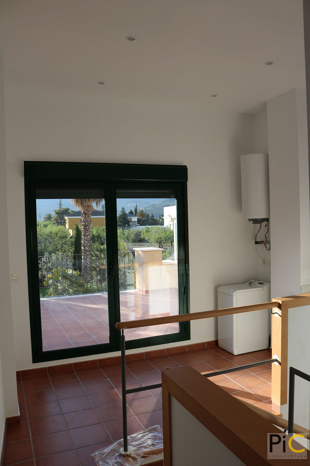 Obra nueva arquitectura vivienda-unifamiliar Benasau 2ªplanta
