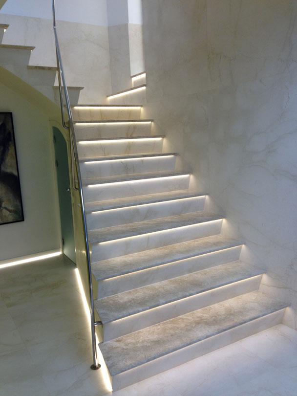 Reforma oficina arsamar escalera
