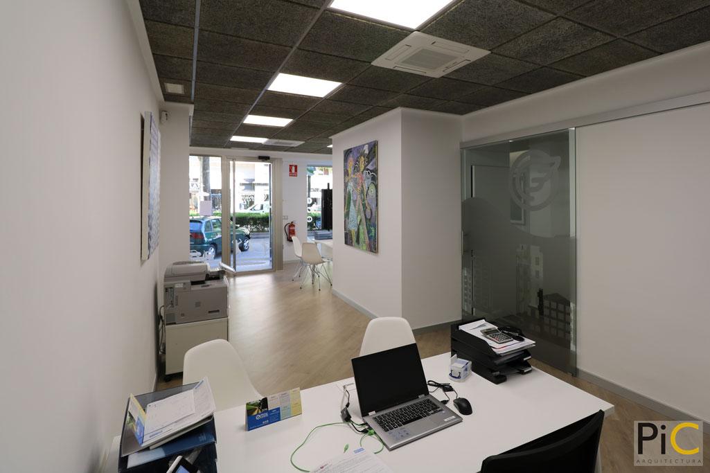 Nueva oficina mutua levante Alcoy picarquitectura interior