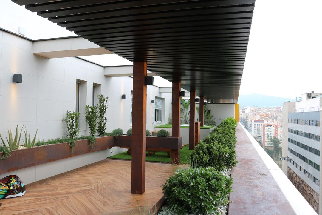 reforma atico alcoy picarquitectura terraza